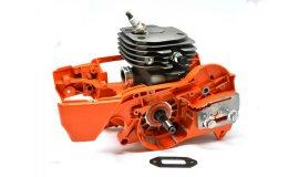 Polomotor Husqvarna 371, 372 + kľuková skriňa + UŠETRÍTE 27 eur - 52mm
