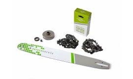 Lišta 50cm +2x reťaz 72 článkov 3/8 1,6 mm + Ozubenie Stihl MS660
