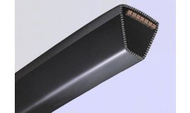 Klinový remeň Li: 2650 mm La: 2700 mm Husqvarna Craftsman 46cali 117cm BOČNÉ VYHADZOVANIE