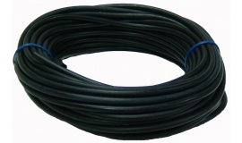 Palivová hadička čierna 2,5mm x 5,0mm - 15m