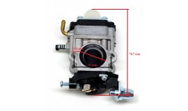 Karburátor pre krovinorezy ECHO REDMAX 15 mm AL-KO BC 4535 BC 4125 BC410