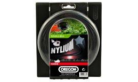 Žací struna NYLIUM  černá, hvězda 2,7mm x 70m