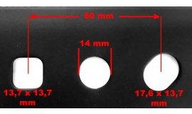 Žací nôž motorových kosačiek NAC URSUS 51cm