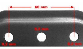 Nôž elektrických kosačiek Bosch Rotak 37cm Žacie
